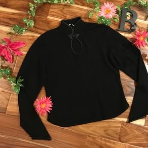 Autumn 100% Cashmere Sweater  Extra Large Black
